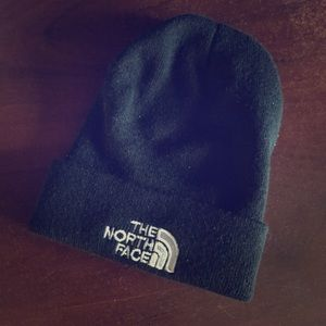 The North Face- Black Warm Beanie. Size OS